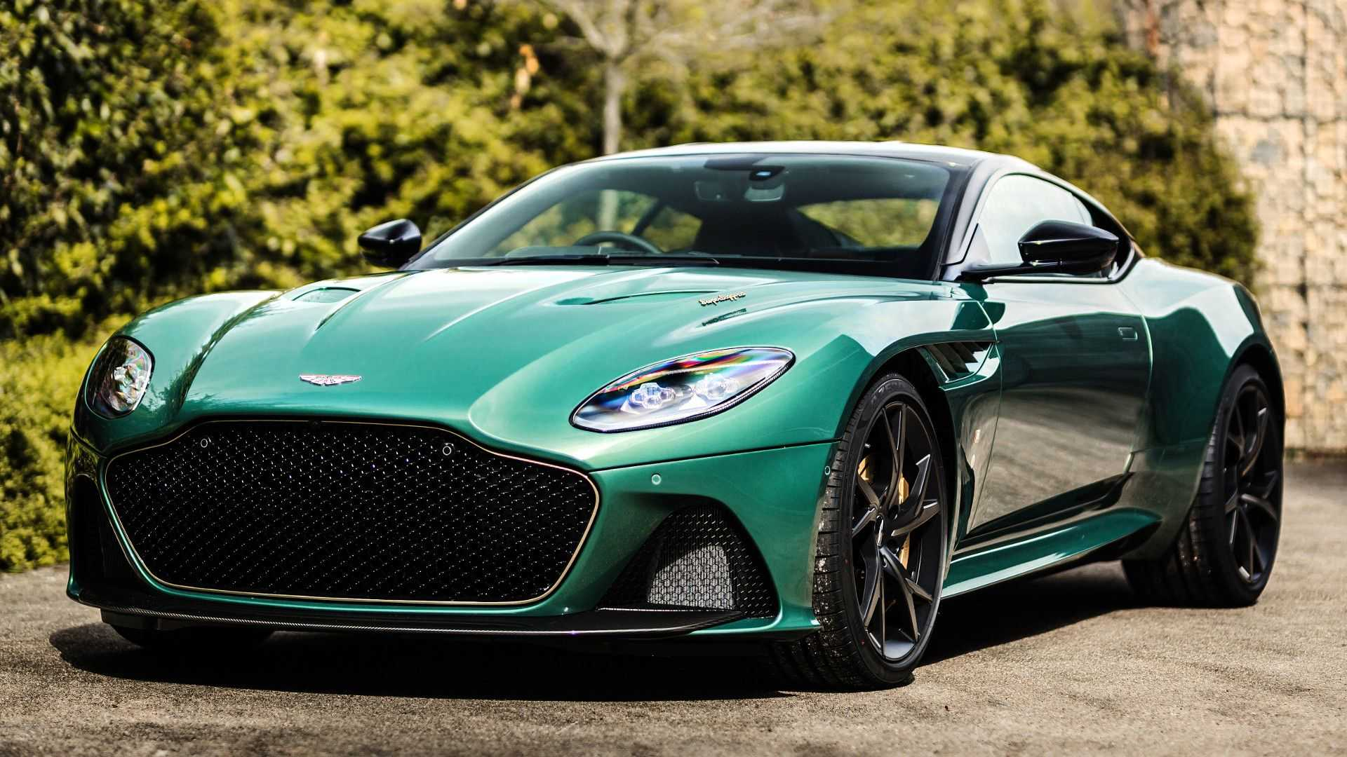 2019 Aston Martin DBS 59 Front Three-Quarter Wallpapers (2)