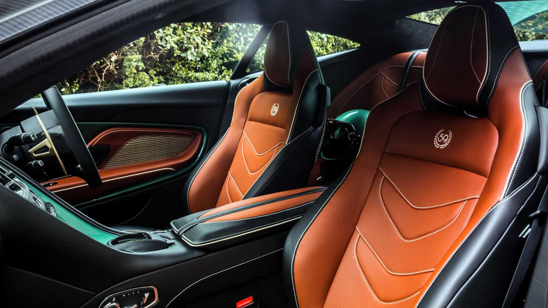 2019 Aston Martin DBS 59 Interior Cockpit Wallpapers (14)