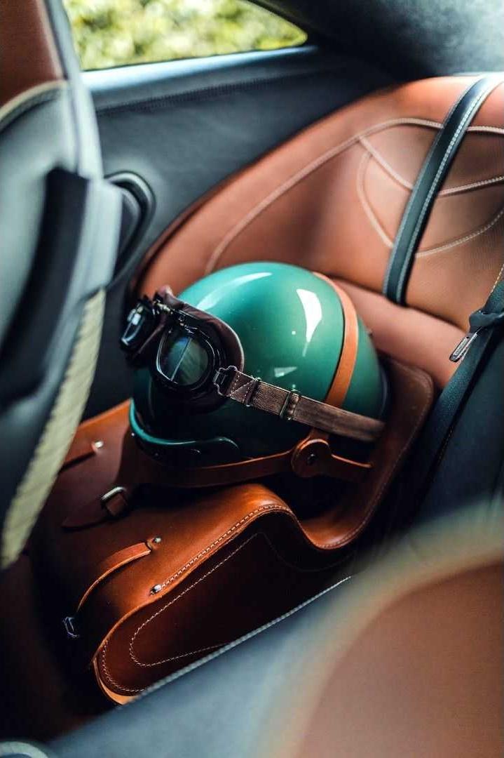 2019 Aston Martin DBS 59 Interior Rear Seats Wallpapers (12)