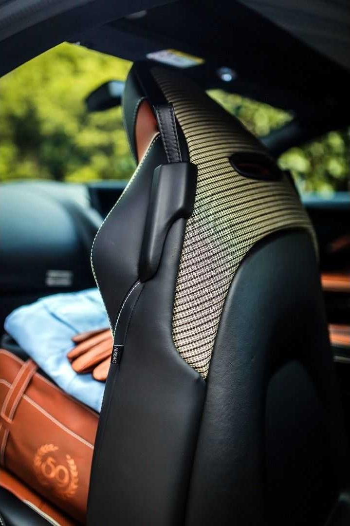 2019 Aston Martin DBS 59 Interior Seats Wallpapers (11)