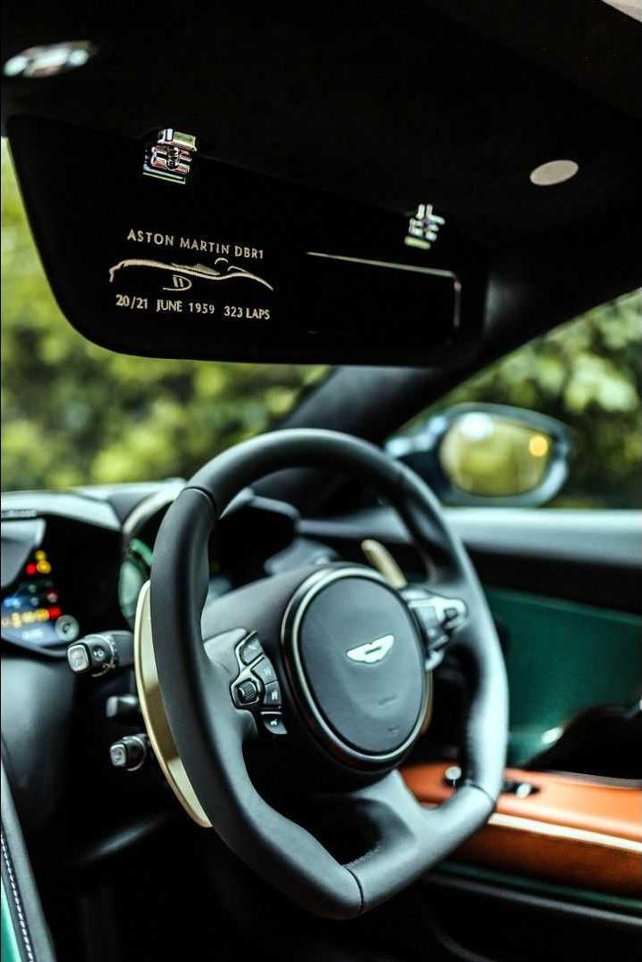 2019 Aston Martin DBS 59 Interior Steering Wheel Wallpapers (9)