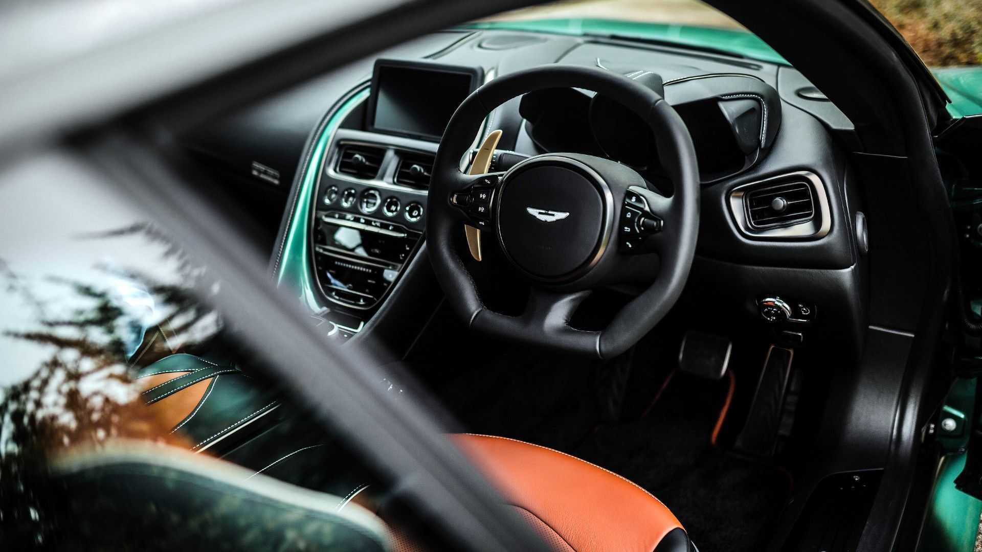 2019 Aston Martin DBS 59 Interior Wallpapers (15)