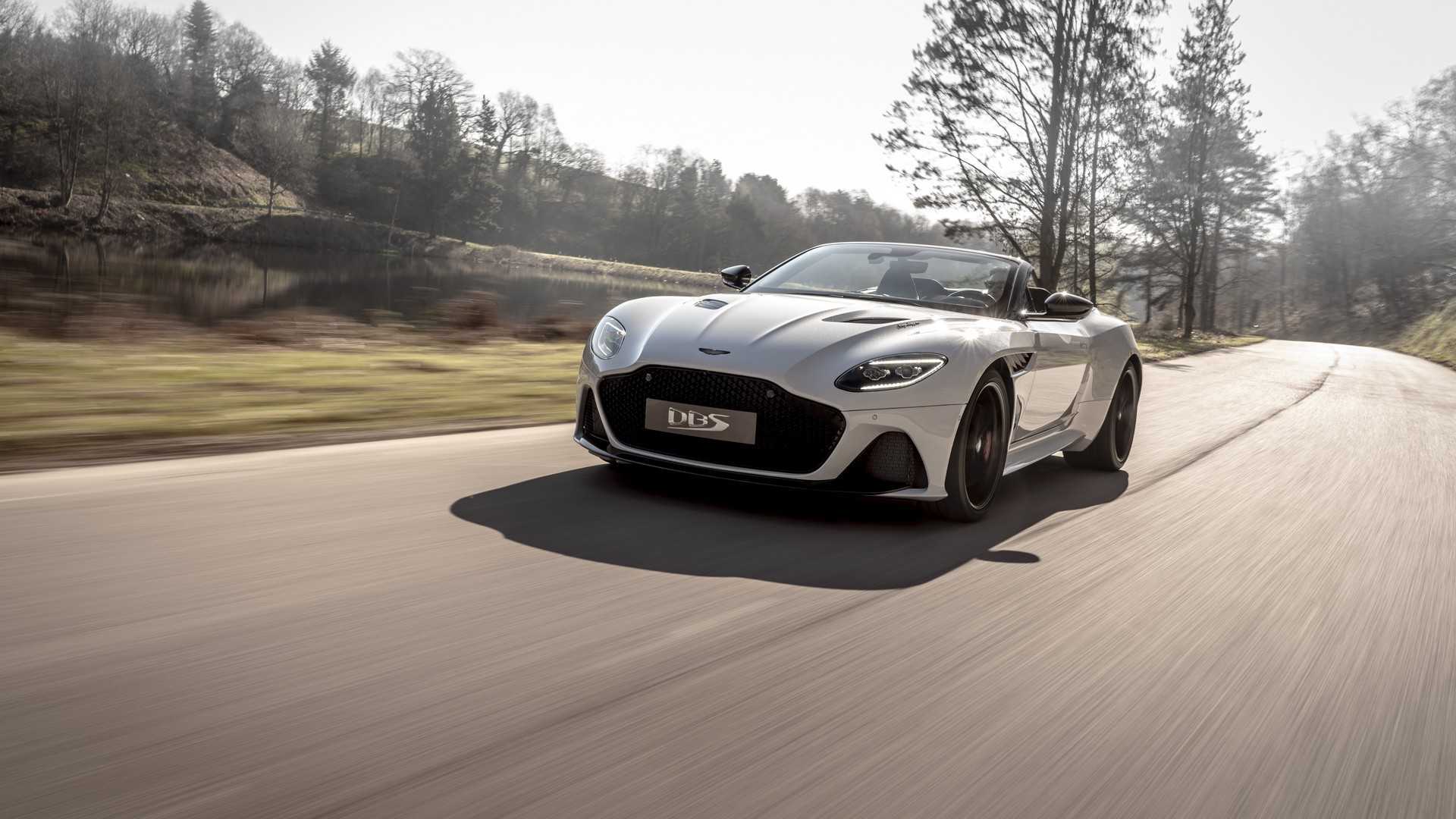 2019 Aston Martin DBS Superleggera Volante Front Three-Quarter Wallpapers (1)