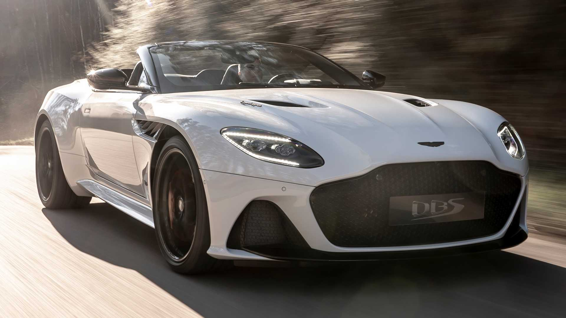 2019 Aston Martin DBS Superleggera Volante Front Three-Quarter Wallpapers (7)