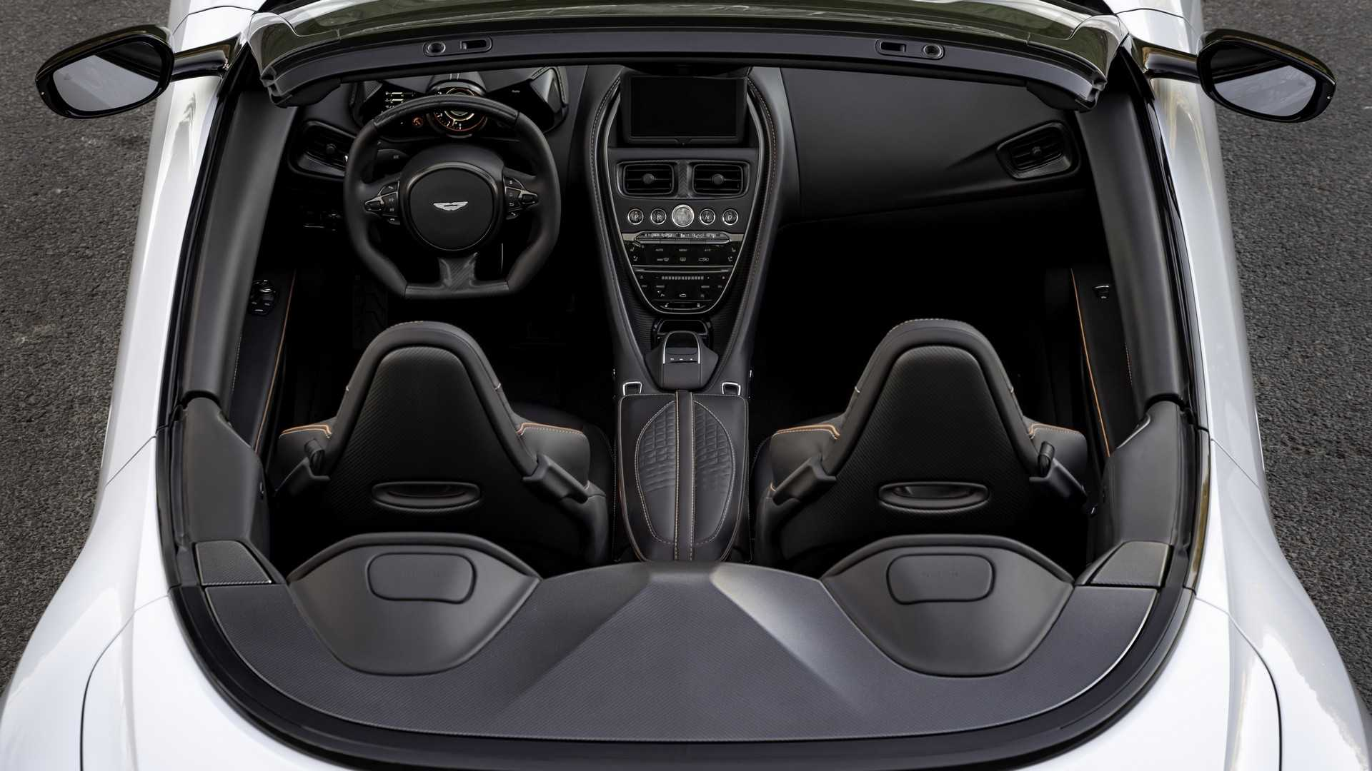 2019 Aston Martin DBS Superleggera Volante Interior Seats Wallpapers (10)