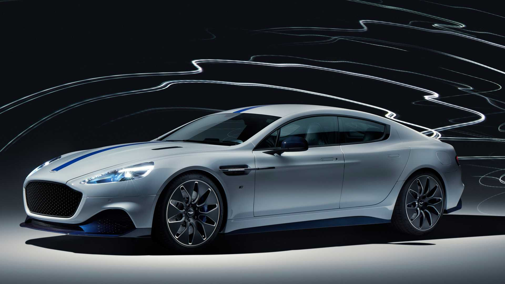 2019 Aston Martin Rapide E Front Three-Quarter Wallpapers (1)