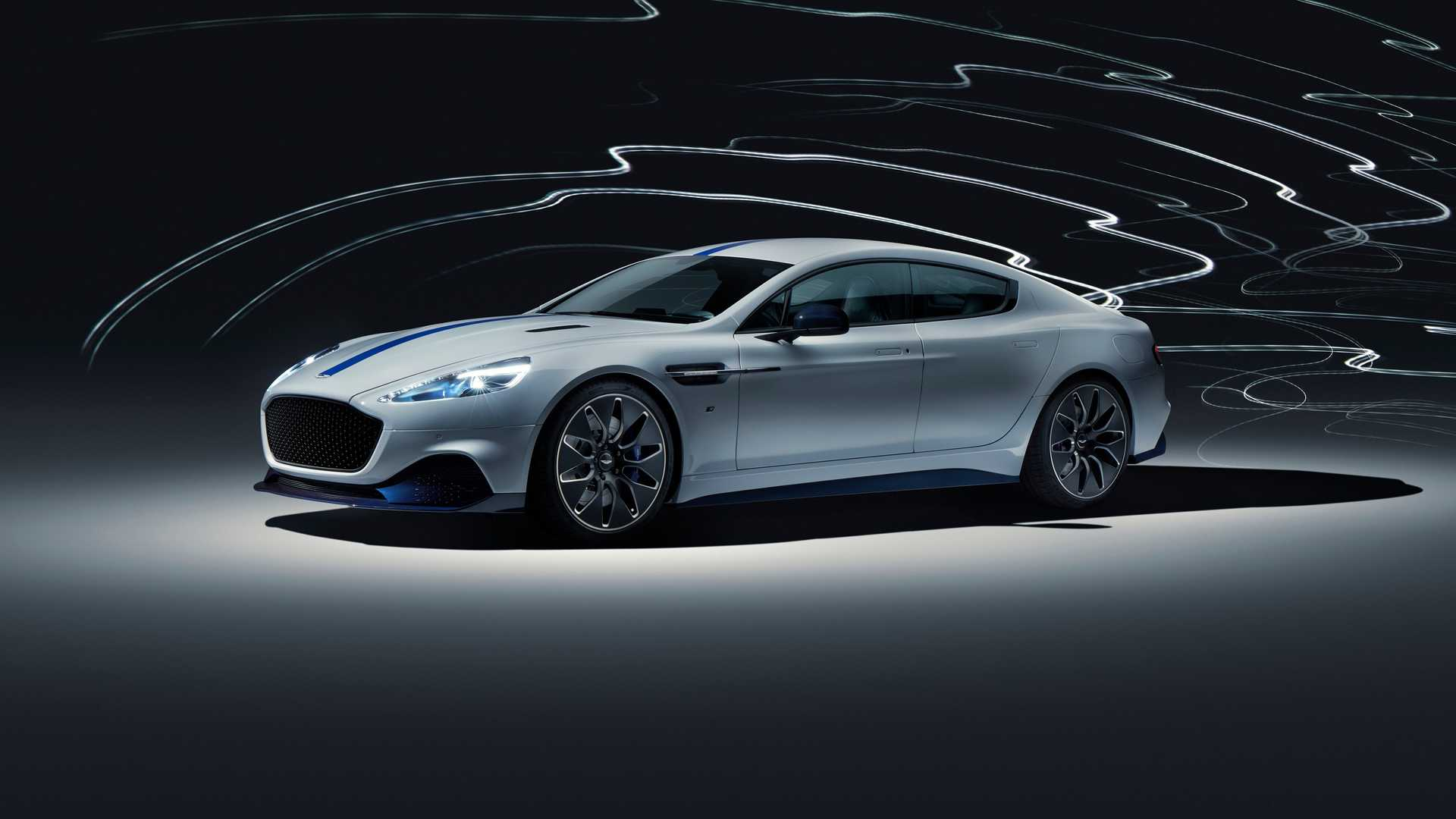 2019 Aston Martin Rapide E Front Three-Quarter Wallpapers (2)