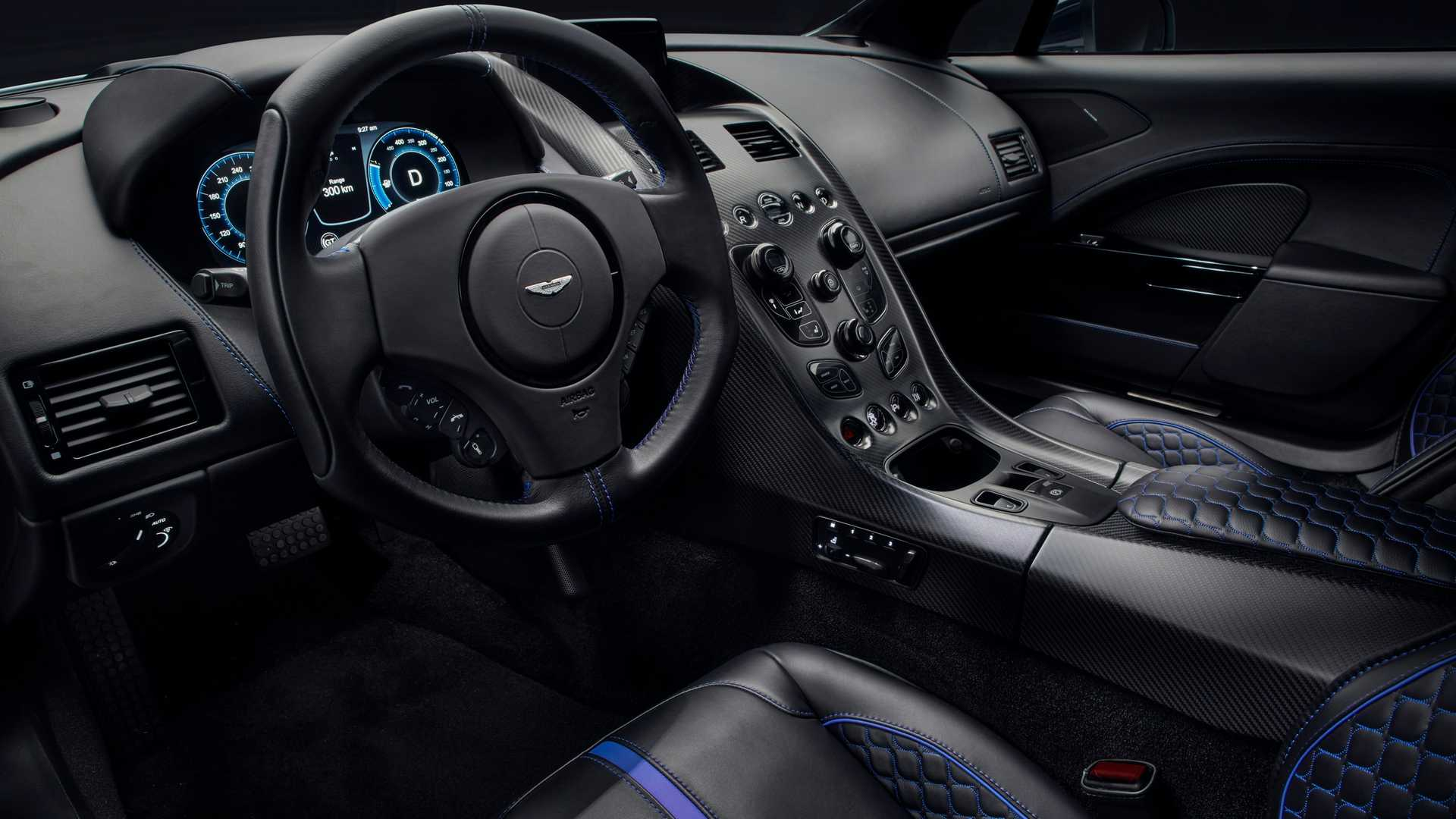 2019 Aston Martin Rapide E Interior Wallpapers (9)