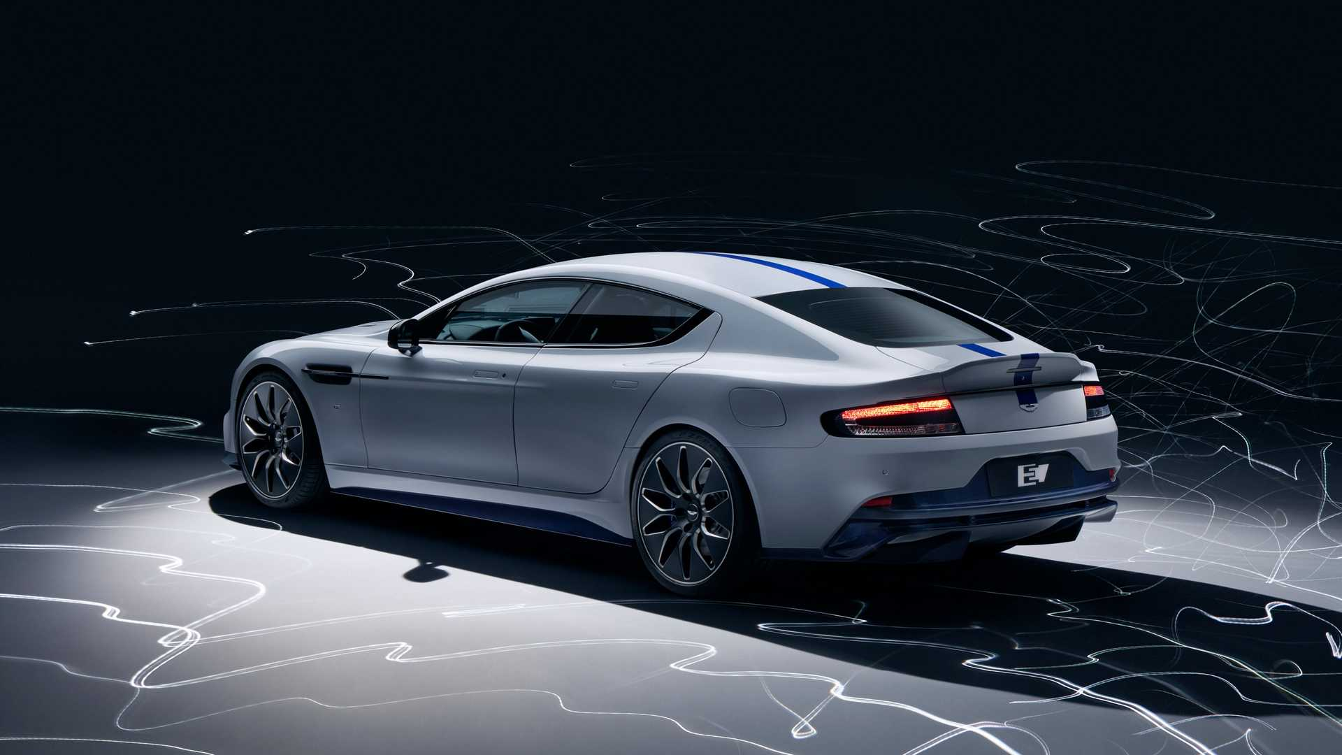 2019 Aston Martin Rapide E Rear Three-Quarter Wallpapers (3)