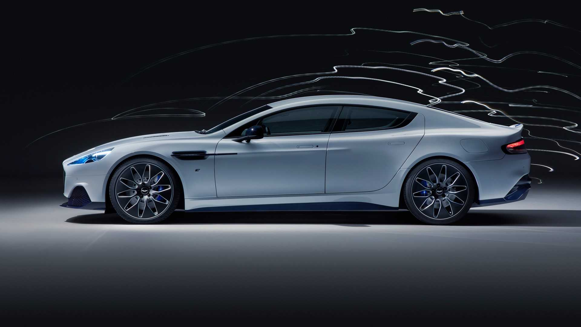 2019 Aston Martin Rapide E Side Wallpapers (4)