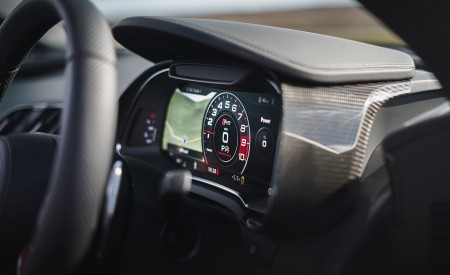 2019 Audi R8 V10 Coupe Performance quattro (UK-Spec) Digital Instrument Cluster Wallpaper 450x275 (197)