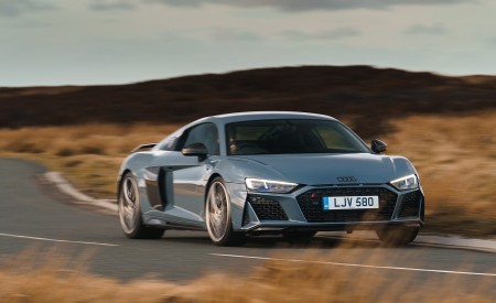 2019 Audi R8 V10 Coupe Performance quattro (UK-Spec) Front Wallpaper 450x275 (134)