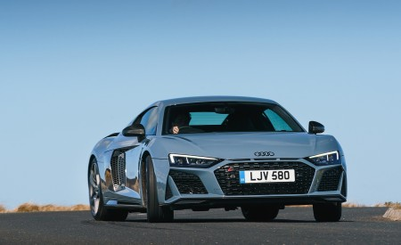 2019 Audi R8 V10 Coupe Performance quattro (UK-Spec) Front Wallpaper 450x275 (94)