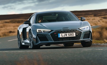 2019 Audi R8 V10 Coupe Performance quattro (UK-Spec) Front Wallpaper 450x275 (120)