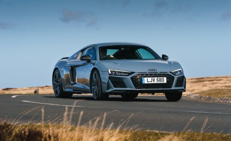 2019 Audi R8 V10 Coupe Performance quattro (UK-Spec) Front Wallpaper 450x275 (95)
