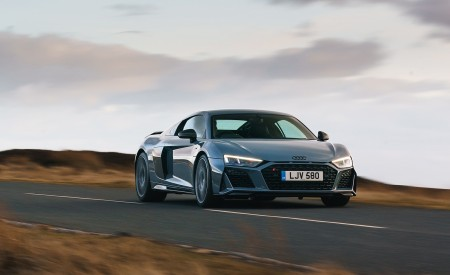 2019 Audi R8 V10 Coupe Performance quattro (UK-Spec) Front Wallpaper 450x275 (121)