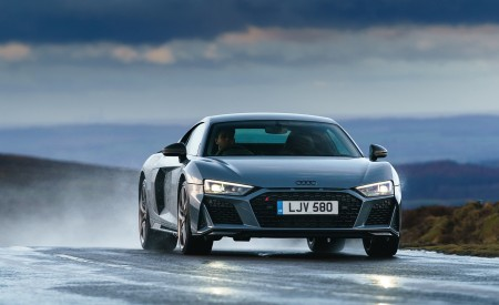 2019 Audi R8 V10 Coupe Performance quattro (UK-Spec) Front Wallpaper 450x275 (110)