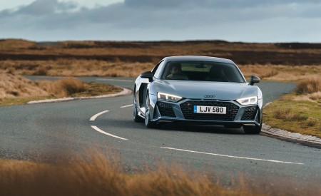 2019 Audi R8 V10 Coupe Performance quattro (UK-Spec) Front Wallpaper 450x275 (124)