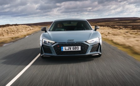 2019 Audi R8 V10 Coupe Performance quattro (UK-Spec) Front Wallpaper 450x275 (86)