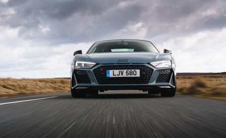 2019 Audi R8 V10 Coupe Performance quattro (UK-Spec) Front Wallpaper 450x275 (76)