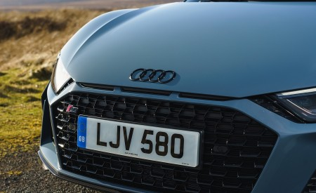 2019 Audi R8 V10 Coupe Performance quattro (UK-Spec) Grill Wallpaper 450x275 (151)