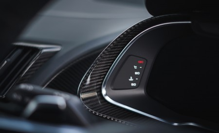 2019 Audi R8 V10 Coupe Performance quattro (UK-Spec) Interior Detail Wallpaper 450x275 (190)