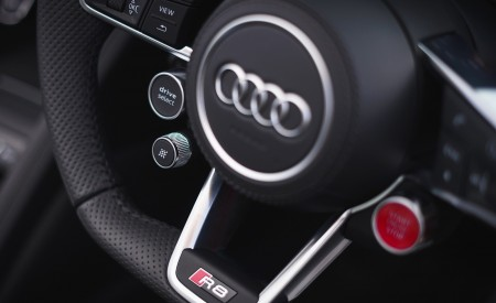 2019 Audi R8 V10 Coupe Performance quattro (UK-Spec) Interior Steering Wheel Wallpaper 450x275 (184)