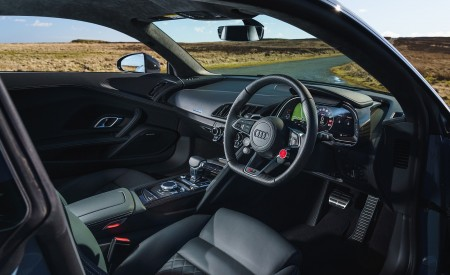 2019 Audi R8 V10 Coupe Performance quattro (UK-Spec) Interior Wallpaper 450x275 (182)