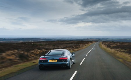 2019 Audi R8 V10 Coupe Performance quattro (UK-Spec) Rear Wallpaper 450x275 (97)