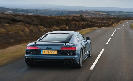 2019 Audi R8 V10 Coupe Performance quattro (UK-Spec) Rear Wallpaper 450x275 (98)