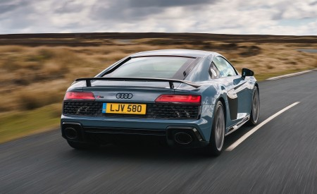 2019 Audi R8 V10 Coupe Performance quattro (UK-Spec) Rear Wallpaper 450x275 (101)