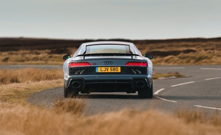 2019 Audi R8 V10 Coupe Performance quattro (UK-Spec) Rear Wallpaper 450x275 (128)