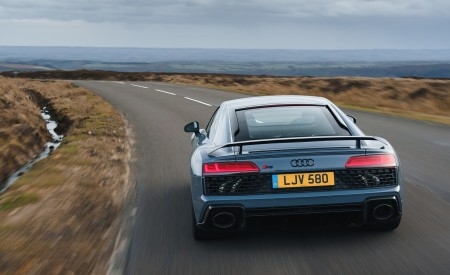 2019 Audi R8 V10 Coupe Performance quattro (UK-Spec) Rear Wallpaper 450x275 (104)