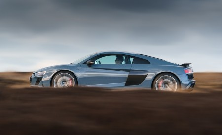 2019 Audi R8 V10 Coupe Performance quattro (UK-Spec) Side Wallpaper 450x275 (114)