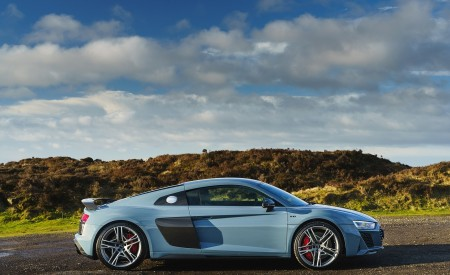 2019 Audi R8 V10 Coupe Performance quattro (UK-Spec) Side Wallpaper 450x275 (146)