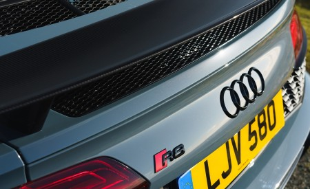 2019 Audi R8 V10 Coupe Performance quattro (UK-Spec) Spoiler Wallpaper 450x275 (169)