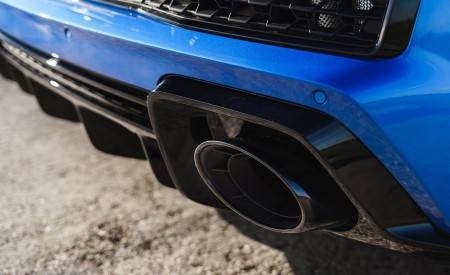 2019 Audi R8 V10 Coupe quattro (UK-Spec) Exhaust Wallpaper 450x275 (54)