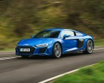 2019 Audi R8 V10 Coupe quattro (UK-Spec) Front Three-Quarter Wallpaper 150x120 (9)