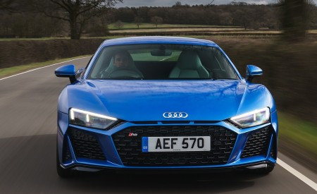 2019 Audi R8 V10 Coupe quattro (UK-Spec) Front Wallpaper 450x275 (30)