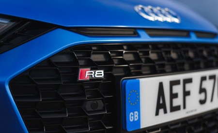 2019 Audi R8 V10 Coupe quattro (UK-Spec) Grill Wallpaper 450x275 (42)