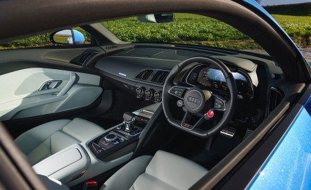 2019 Audi R8 V10 Coupe quattro (UK-Spec) Interior Wallpaper 450x275 (66)