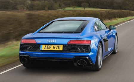 2019 Audi R8 V10 Coupe quattro (UK-Spec) Rear Wallpaper 450x275 (11)