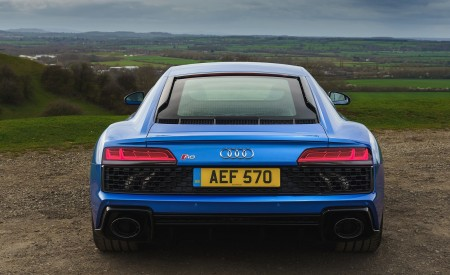 2019 Audi R8 V10 Coupe quattro (UK-Spec) Rear Wallpaper 450x275 (36)