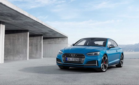 2019 Audi S5 Coupé TDI Front Three-Quarter Wallpapers 450x275 (6)