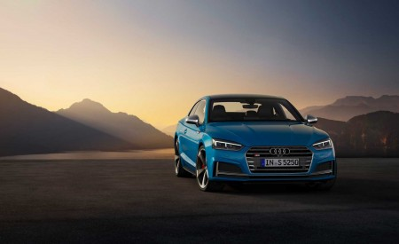 2019 Audi S5 Coupé TDI Front Wallpapers 450x275 (14)