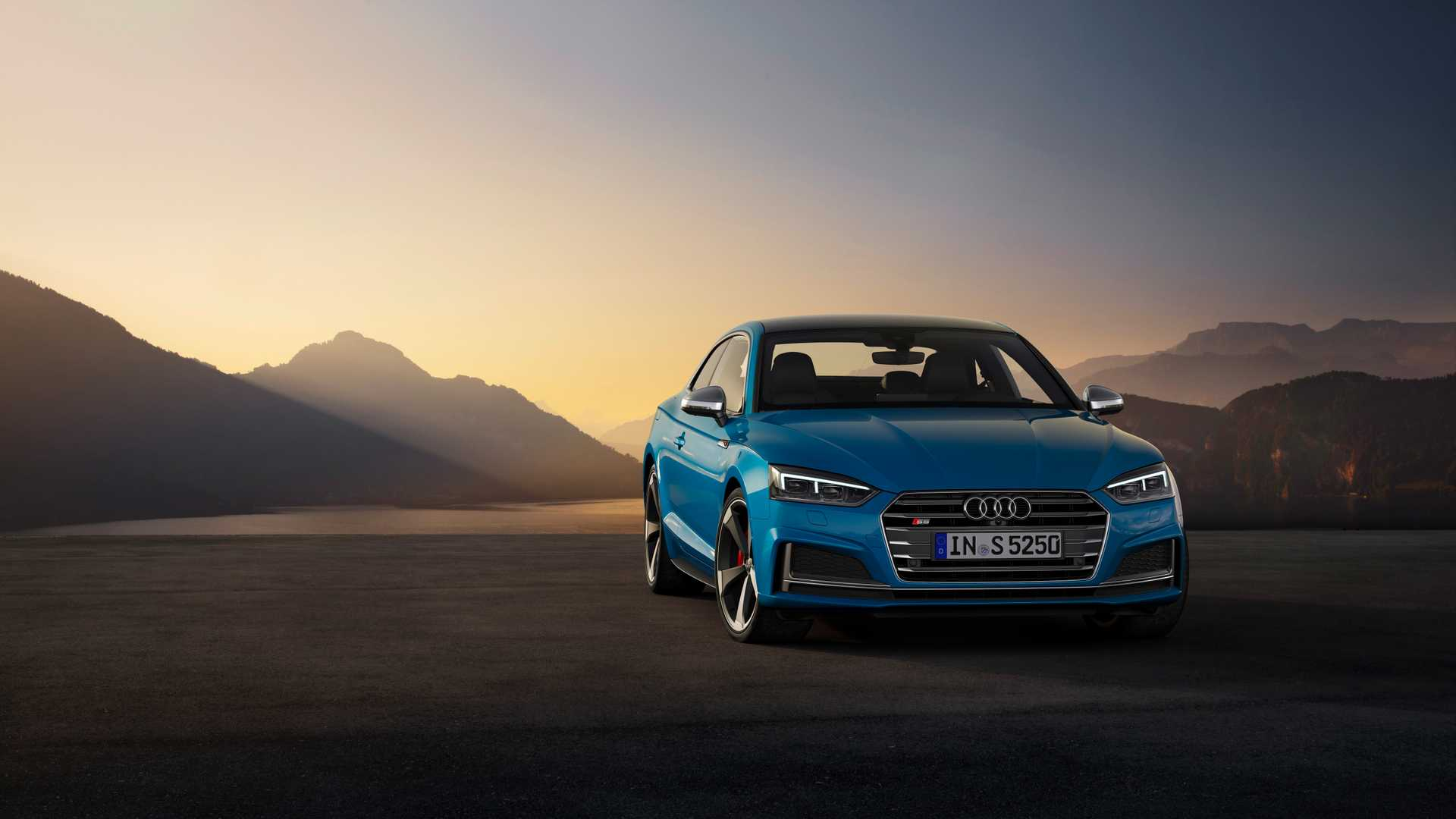 2019 Audi S5 Coupé TDI Front Wallpapers #14 of 17