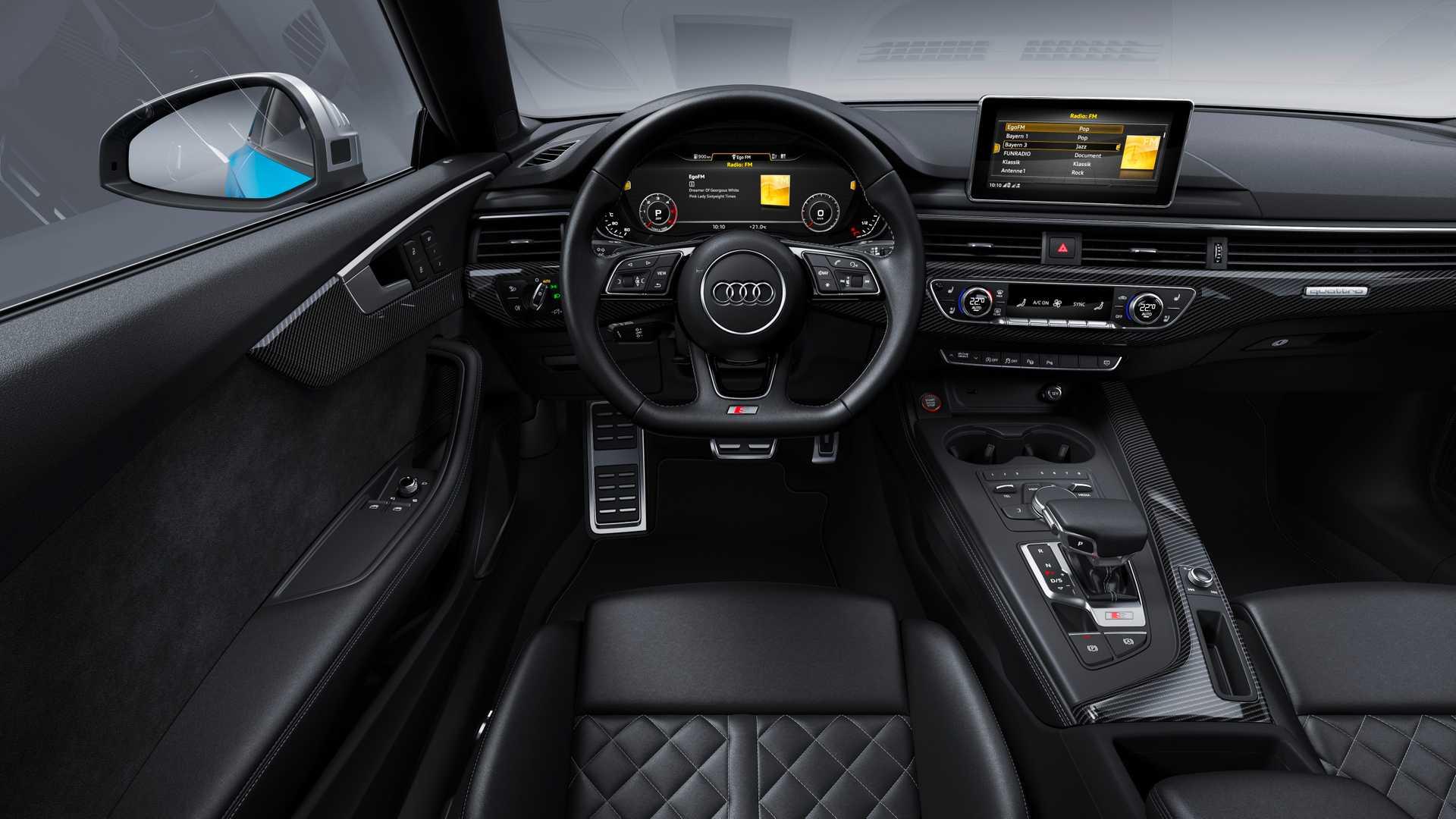 2019 Audi S5 Coupé TDI Interior Cockpit Wallpapers #16 of 17