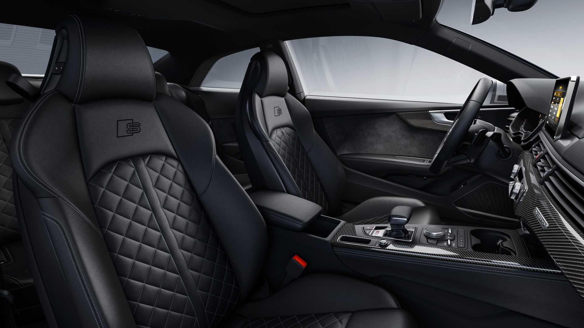 2019 Audi S5 Coupé TDI Interior Front Seats Wallpaper (15)