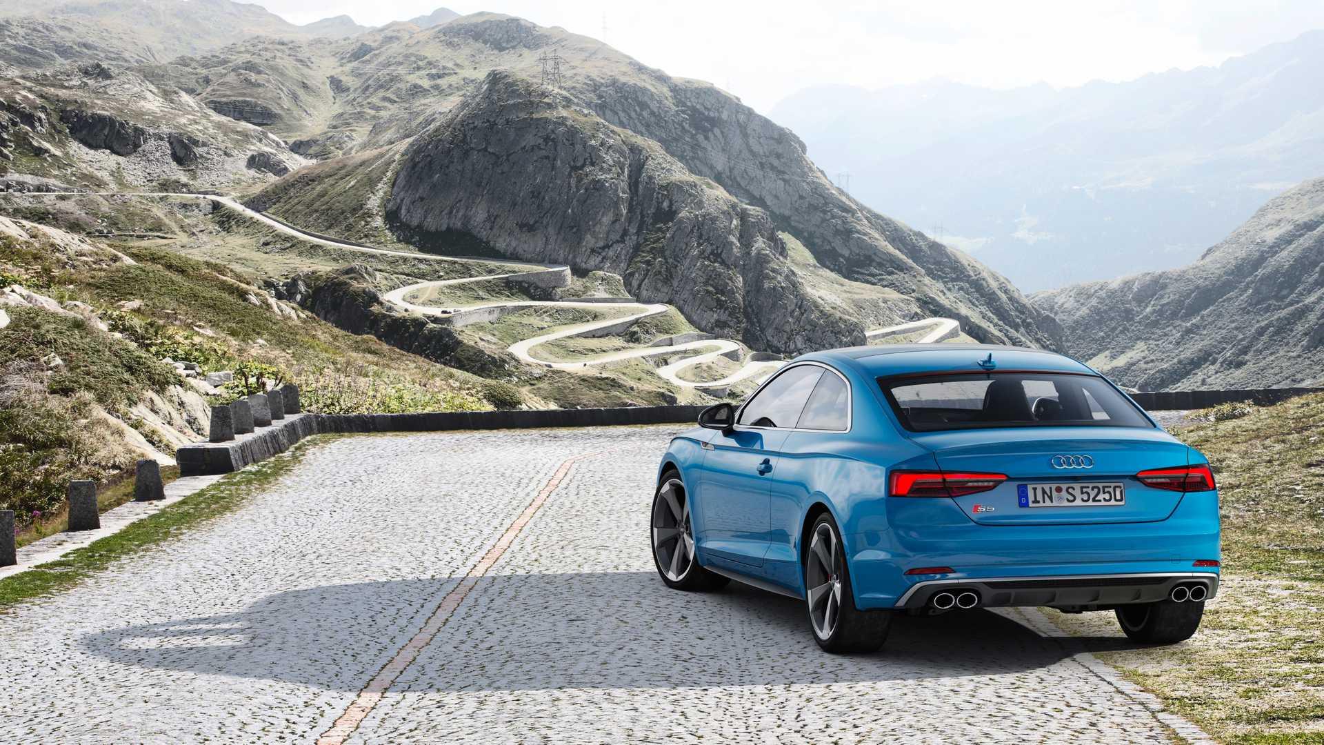 2019 Audi S5 Coupé TDI Rear Three-Quarter Wallpaper (9)