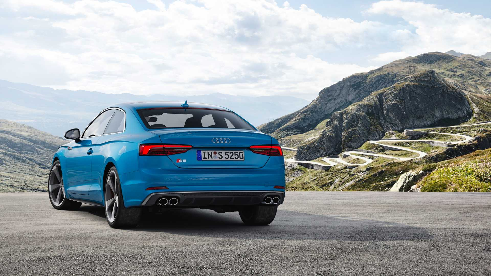 2019 Audi S5 Coupé TDI Rear Wallpaper (10)
